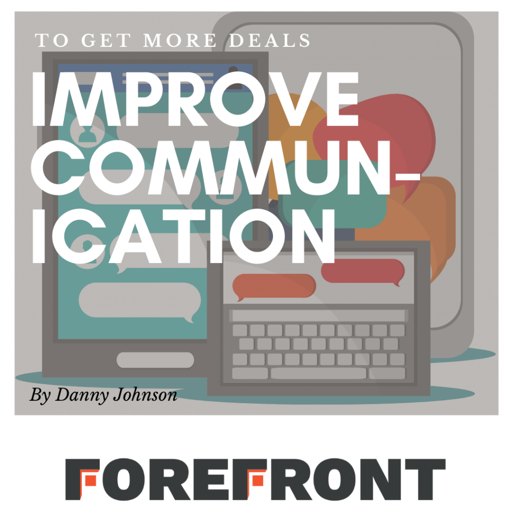 forefront crm improve communication graphic