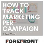 track marketing per campaign