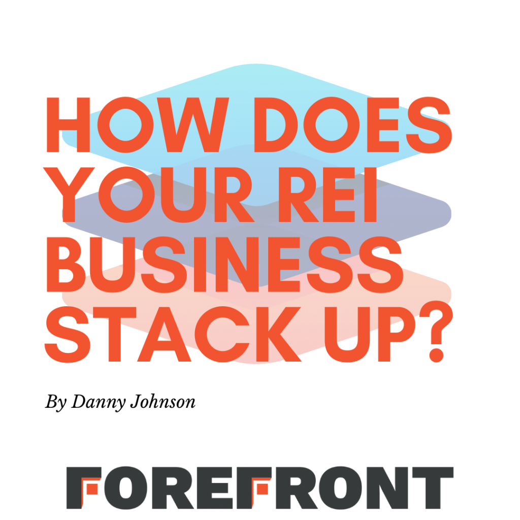 real estate investor business stack up post graphic